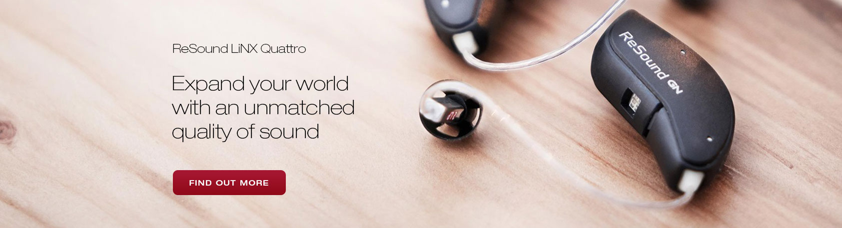 ReSound LiNX Quattro Banner - Better Hearing Aid Center